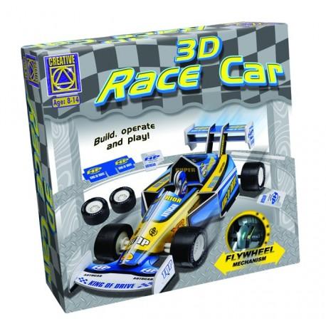 3D Race Car Kurybinis Rinkinys