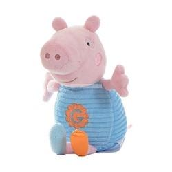 George Pig minkštas barškutis