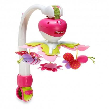 Karuselė Muzikinė Tiny Love Take Along Mobile Pink