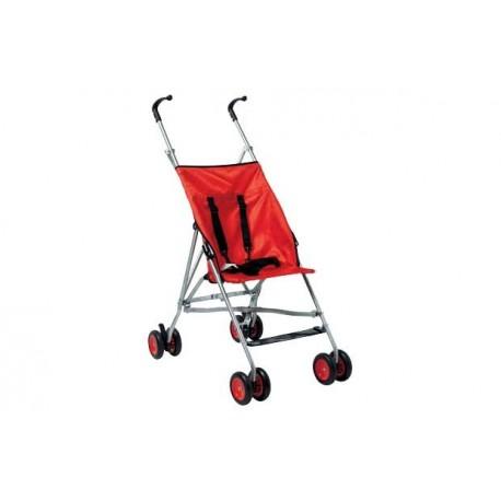 BabyStart Basic Pushchair - Red Vežimėlis