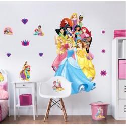 Didelis Sienos Lipdukas Disney Princess