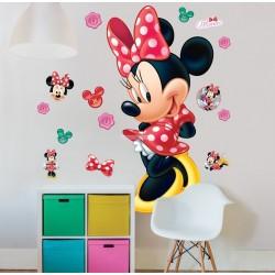 Didelis Sienos Lipdukas Disney Minnie Mouse