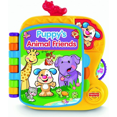 Fisher-Price Laugh & Learn Puppy's Animal Friends Knygutė